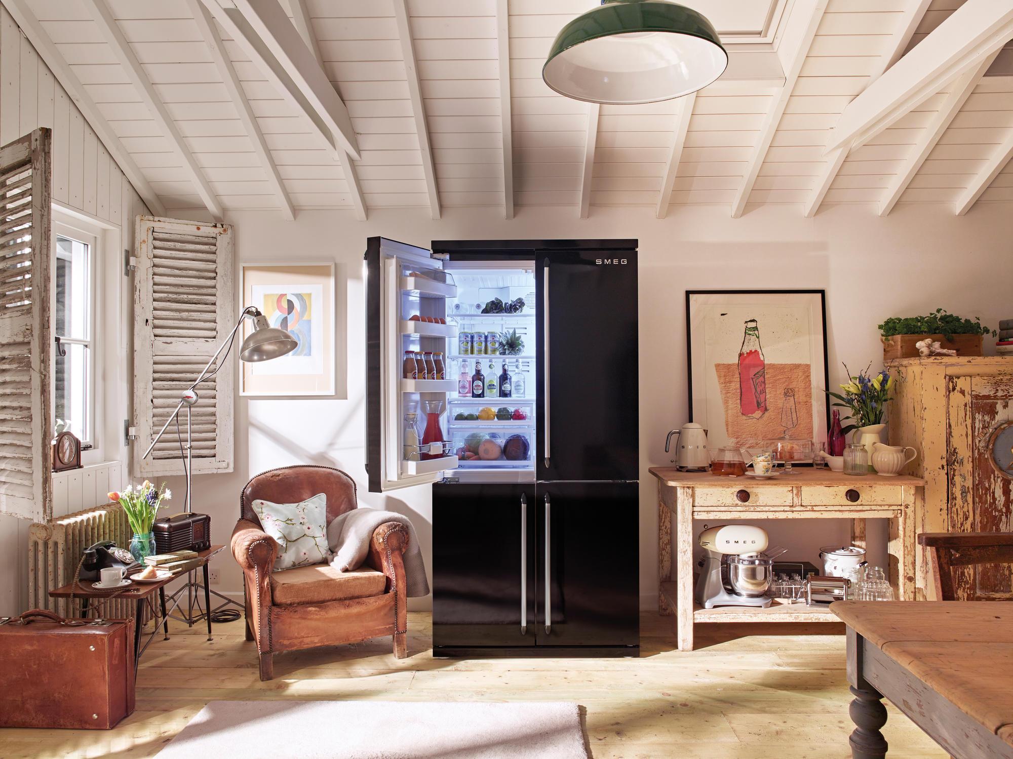 Smeg Kühlschrank French Door : Smeg fq french door kühlschrank im victoria design cm in