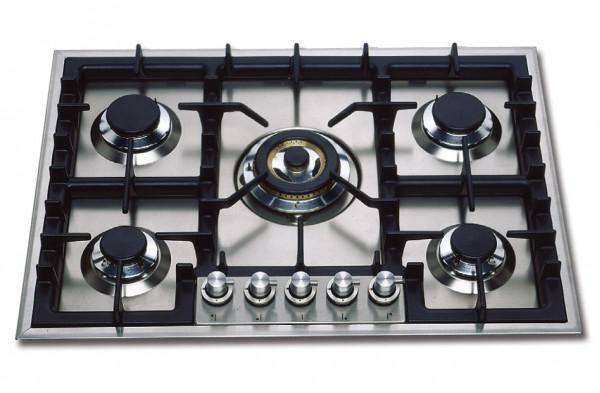 HP75 Professional Gaskochfeld 70 cm 5 Flammen 13,1 kW