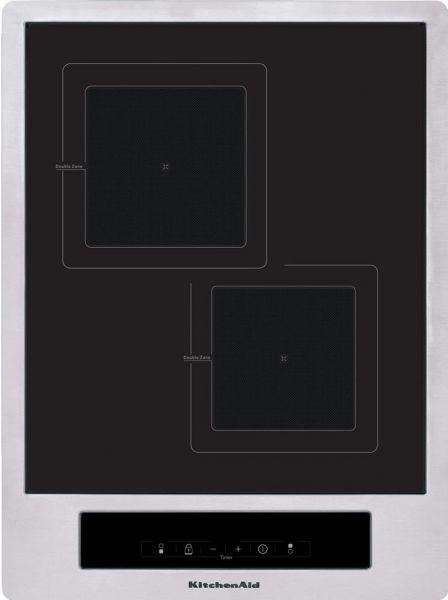 KHYD2 38510 Domino Induktionskochfeld mit 2 Zonen 38 cm