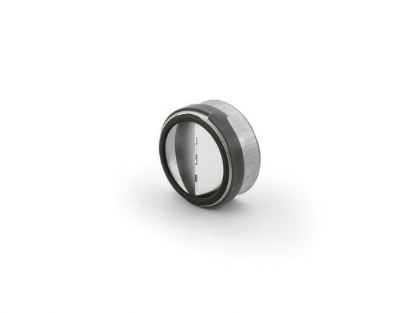 Rückstauklappe rund, Abluftzubehör, Ø 100 mm, L 43 mm