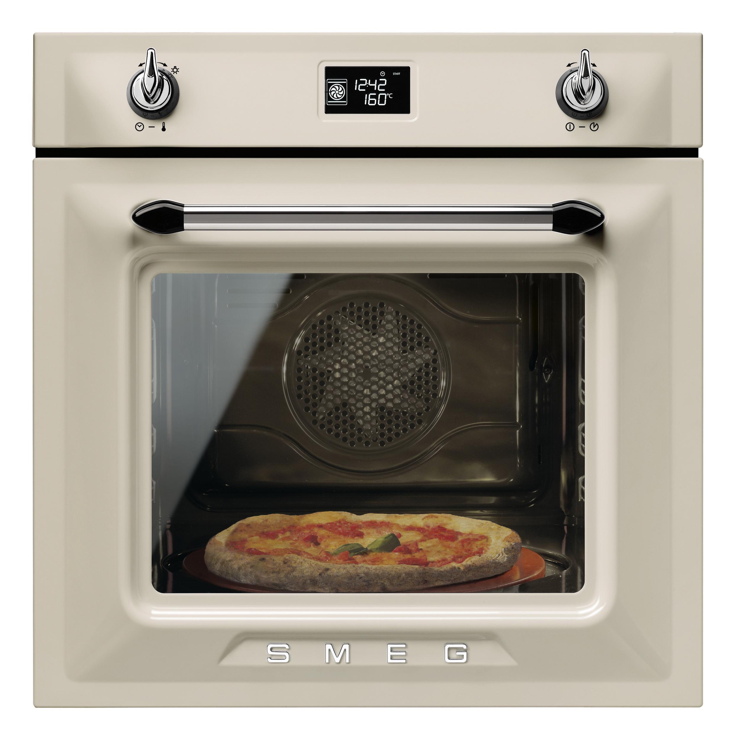 smeg sfp6925 einbaubackofen mit pizzafunktion und pyrolyse victoria design. Black Bedroom Furniture Sets. Home Design Ideas