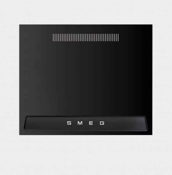 KIT1TR9N Metall-Rückwand für Victoria Kochzentren 90 cm schwarz