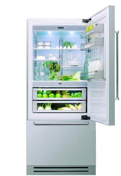 Vertigo KCZCX 20901 Luxus Kühlschrank 206 x 90 cm mit Edelstahlgehäuse