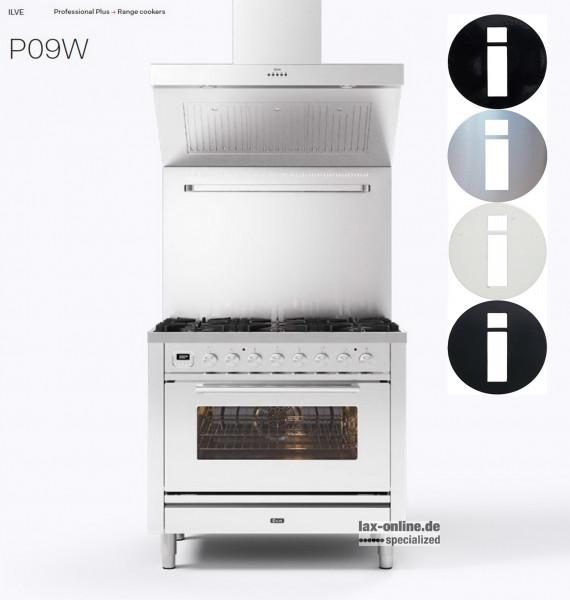 Professional Plus P09 - 90 cm Standherd - mit Gas oder Induktion