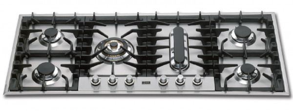 HP125P Professional Gaskochfeld 120 x 51 cm 16,2 kW