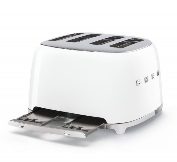 TSF03 Retro Design Toaster 4 Schlitz im 50`s Style