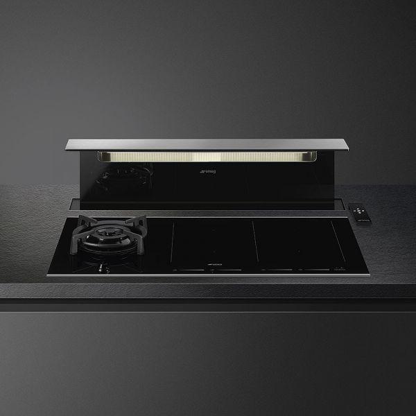 KITKDSNBG Schwarzglas/Kupfer-Profil für KSDD90VN-2