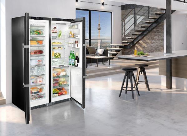 Side By Side Kühlschrank Laut : Liebherr sbsbs side by side kühlschrank biofresh nofrost