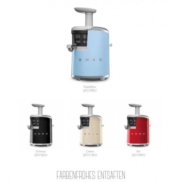 SJF01 Entsafter im Stil der 50er Jahre - slow juicer