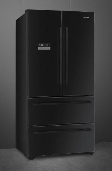 FQ55FN2PE French Door Kühl-/Gefrierkombination 84 cm Breite in schwarz