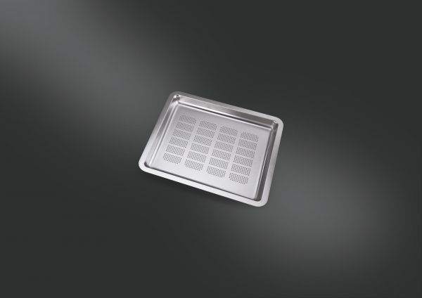 COL34 Siebschalge geloch aus Edelstahl für Smeg Spülbecken