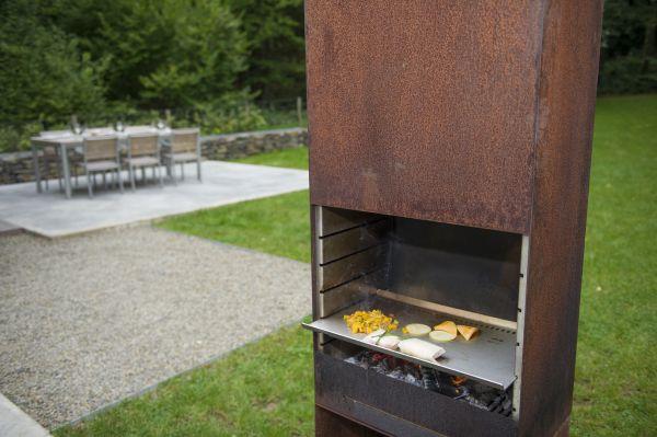 Tole K60 Teppanyaki Grillrost aus Edelstahl Zubehör zum Tole K60 Gartenfeuer