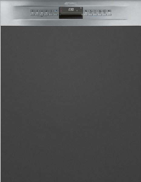 smeg pl4325xin geschirrsp ler teilintegriert 60 cm a neutrales design. Black Bedroom Furniture Sets. Home Design Ideas