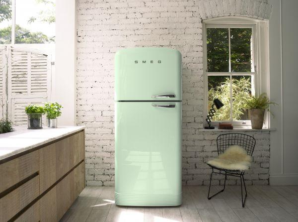 Retro Kühlschrank Pastellgrün : Smeg fab retro design kühlschrank im er look alle farben a