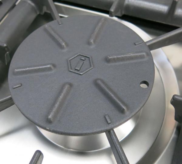 Simmerplatte aus Guß für Gasherde