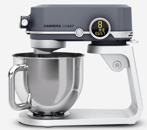 Küchenmaschine No. 657 mit 800 Watt und 8 Leistungsstufen