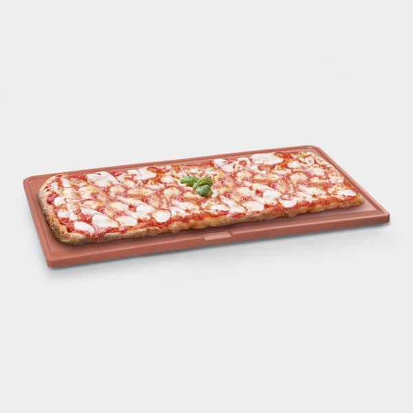 PPR9 Pizzastein aus Schamott 64 x 37 cm