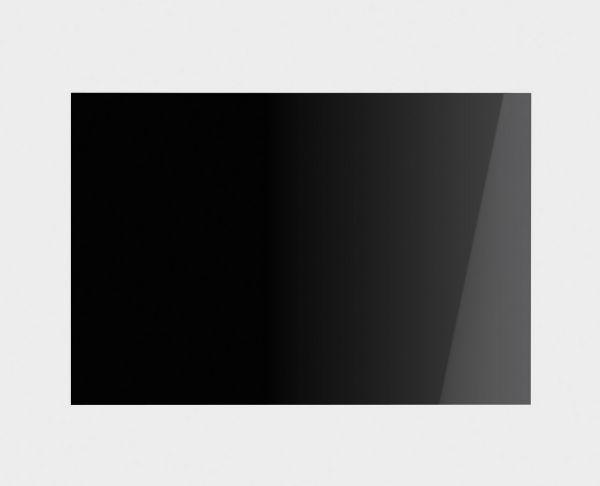 SPG110NE Glas Rückwandverkleidung für Victoria Kochzentren in 110 cm schwarz