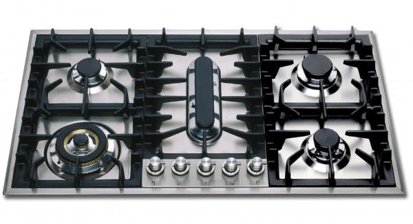 HP95P Professional Gaskochfeld 90 cm 5 Flammen 13,1 kW