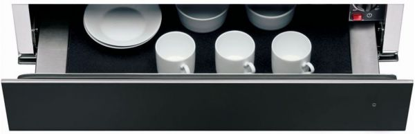 KWXXXB 14600 Einbau Wärmeschublade 14 cm Black Steel