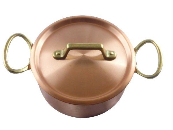 Kupfer Deckel von 12 cm bis 30 cm Durchmesser