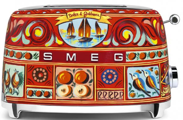TSF01DGEU Toaster für 2 Scheiben im Dolce & Gabbana Design