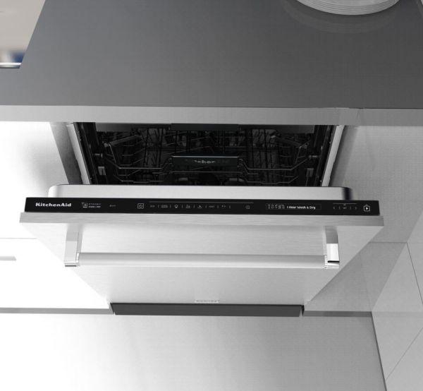 KDSDM 82143 Einbau Geschirrspüler 60 cm Vollintegriert mit niedrigem Sockel
