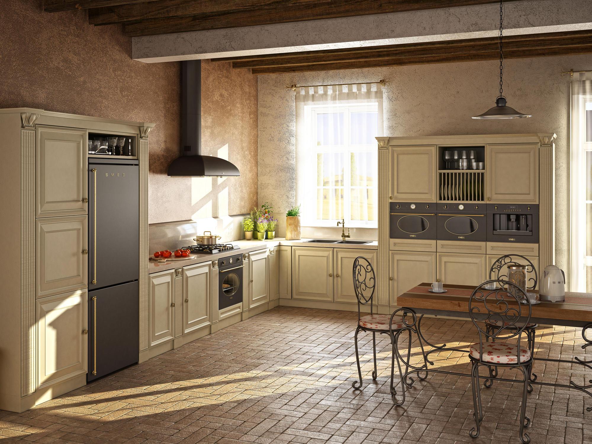 Kühlschrank Nostalgie : Smeg fa kühl gefrierkombination cm im nostalgie design