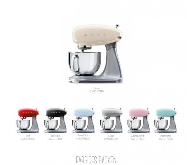 SMF01 Küchenmaschine im 50er Jahre Retro Design