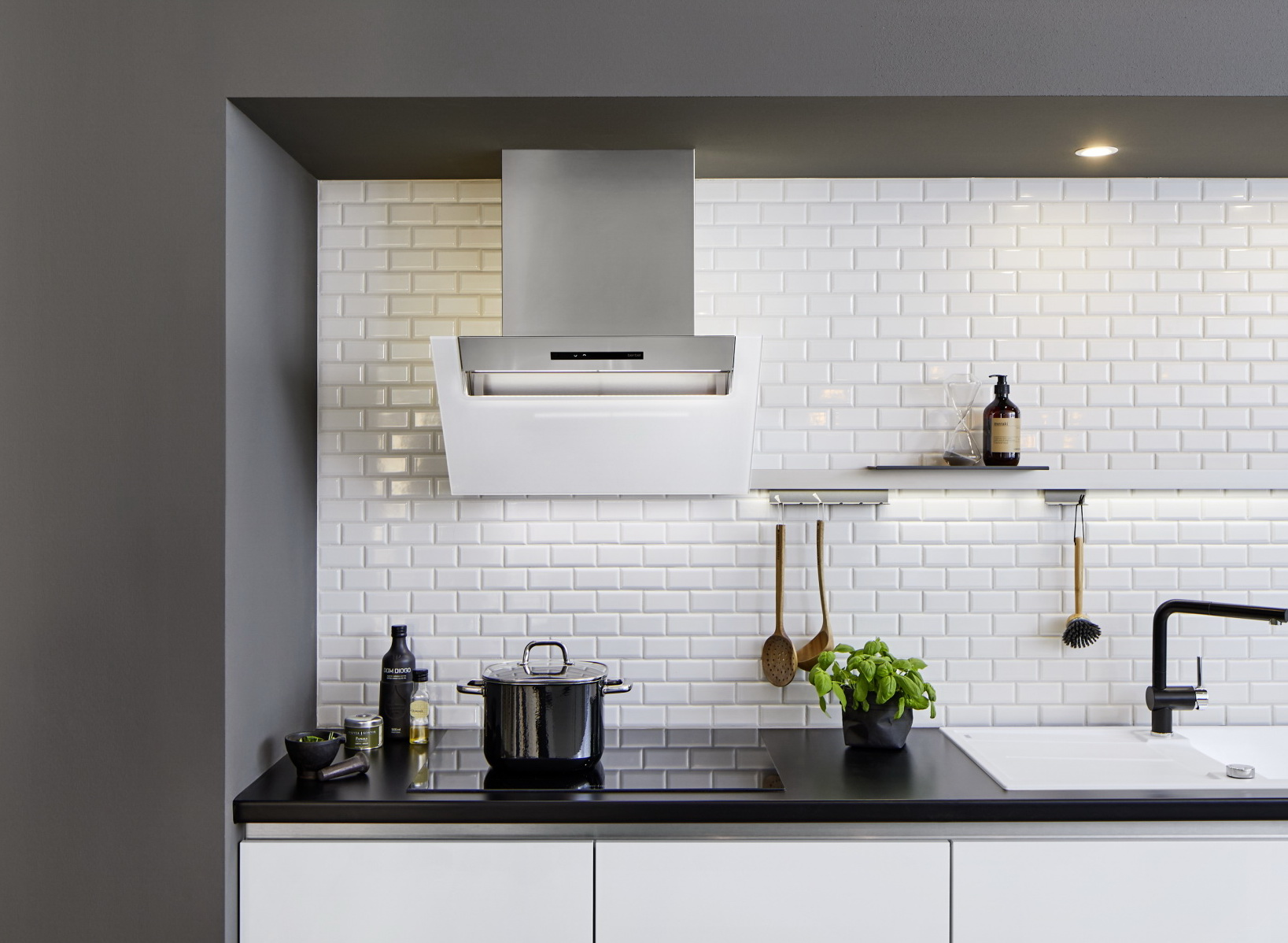 Berbel ergoline 2 design kopffrei wandhaube dunstabzugshaube ebay