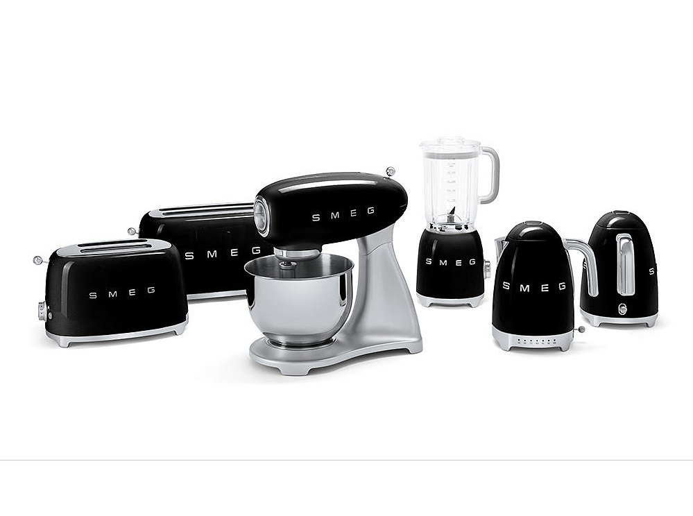 Smeg Toaster TSF01BLEU Schwarz