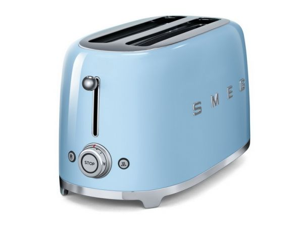smeg tsf02 toaster f r 4 scheiben im 50er jahre retro. Black Bedroom Furniture Sets. Home Design Ideas