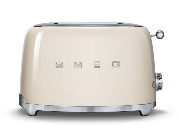 Smeg Kühlschrank Abmessungen : Smeg tsf toaster für scheiben inklusive brötchenaufsatz oder